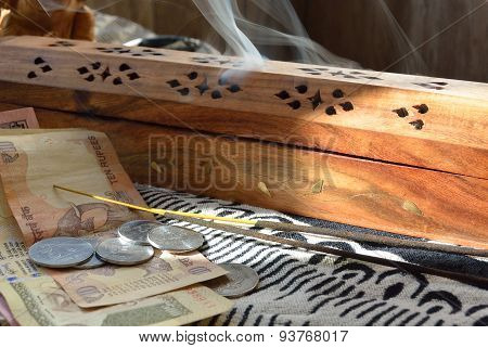 Rupees And Incense