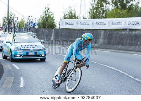 The Cyclist Jakob Fuglsang - Tour De France 2014