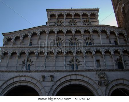 Cathedral of Lucca in Italy