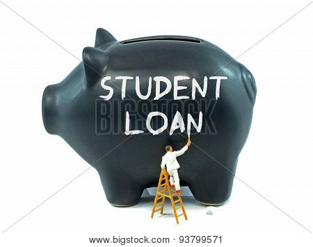 Student Loan Piggy Bank