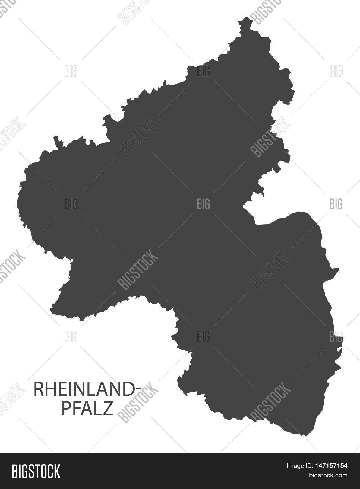 Rheinland Pfalz Vector Photo Free Trial Bigstock