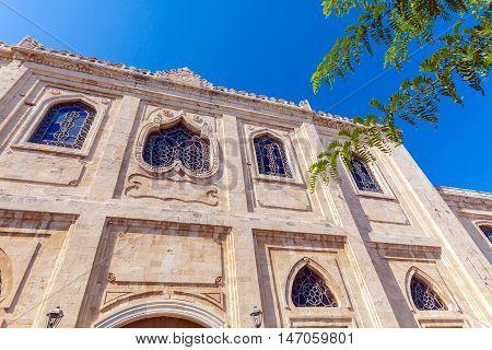 Ottoman Vezir Mosque (1856), Now The Basilica Of St Titus, Heraclion, Crete