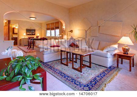 Beautiful Light Living Room Design