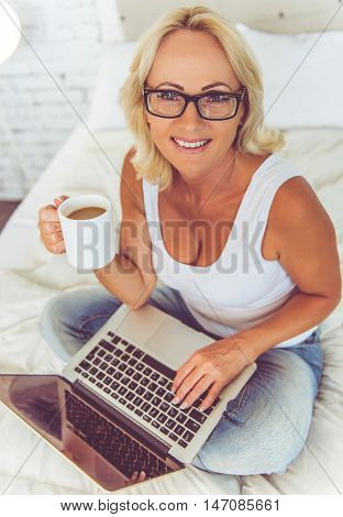 Beautiful Middle Aged Businesswoman