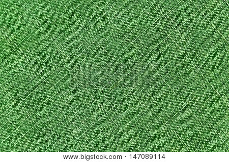 Green Worn Jeans Cloth Texture