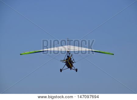 Trike, Flying In The Sky With Two People