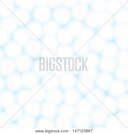 Cells or cotton balls abstract background. Vector EPS 10