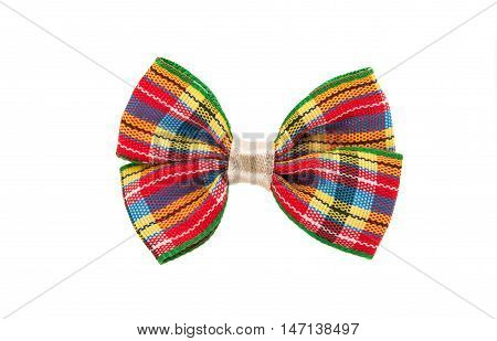 butterfly bow  men, trendy on a white background