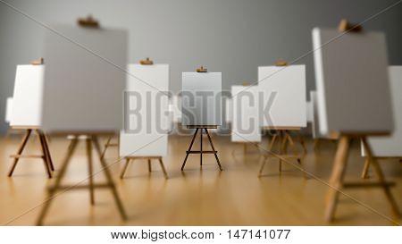 Tripod Painting