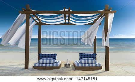 Tent On The Beach