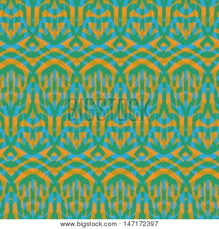 Ethnic Hand Drawn Seamless Pattern