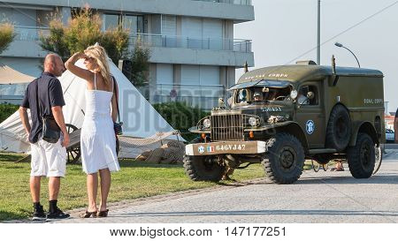 Old Truck Of The Us Army
