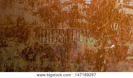 Metal texture, beautiful orange metal texture, steel, metal background, pattern, engraving, rust