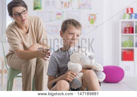 Dealing With His Parents Divorce