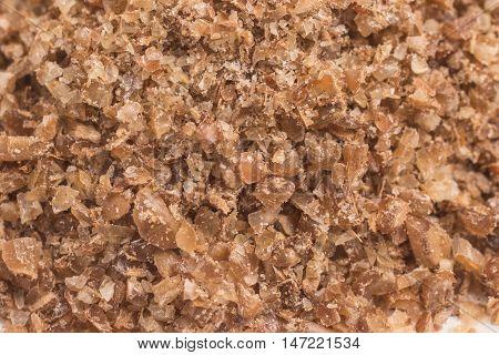 Close-up on a Ground Wheat. Trigo para quibe. Kibbeh