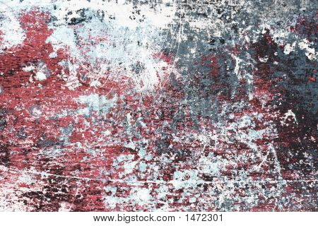Grungy Flaked Paint