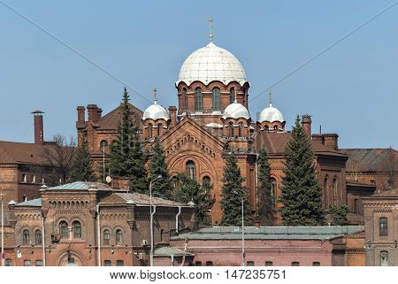 The Church of Saint Alexander Nevsky in the prison complex