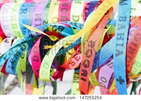 Brazilian Ribbons - Fita Do Senhor Do Bonfim