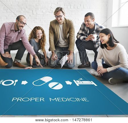 Proper Medical Health Wellbeing Care Concept
