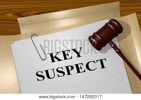 Key Suspect - Legal Concept