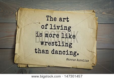 TOP-60. Marcus Aurelius (Roman emperor and philosopher) quote. Each thing is of like form from everlasting and comes round again in its cycle.