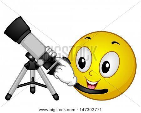 Smiley Astronomy Refractor Telescope