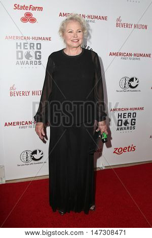 LOS ANGELES - SEP 10:  Michelle Phillips at the 2016 American Humane Hero Dog Awards at the Beverly Hilton Hotel on September 10, 2016 in Beverly Hills, CA