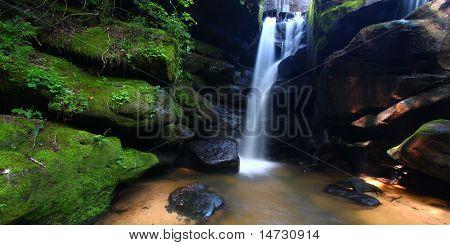 Nördlichen Alabama Wasserfall