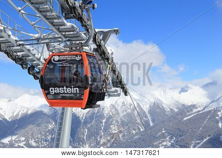 Ski Lift In Europe