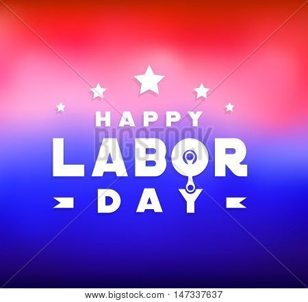 Happy Labor Day label , icon, banner