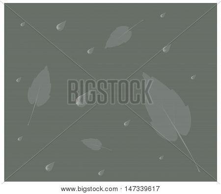Monochrome vector illustration