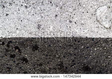 Asphalt, asphalt texture, real asphalt texture background, seamless asphalt background, white asphalt, road marking