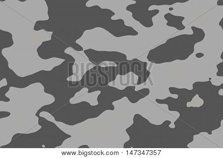 Camouflage military background.Vector camouflage pattern.grey camouflage.soldier blackground