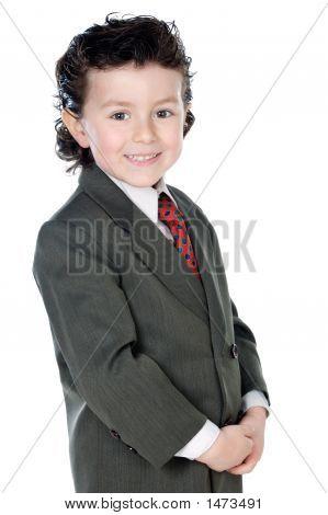 Child With Elegant Clothes