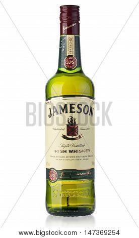 Jameson Whiskey Isolated On White