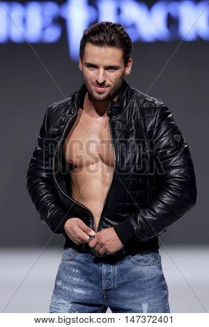 Sofia Fashion Week Male Muscles Jacket