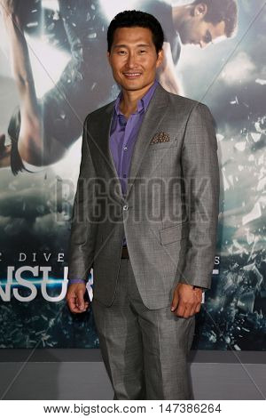 NEW YORK-MAR 16: Actor Daniel Dae Kim attends the U.S. premiere of
