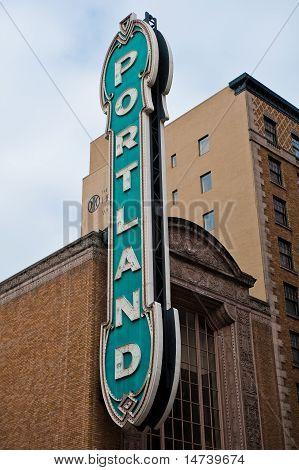 Portland Sign