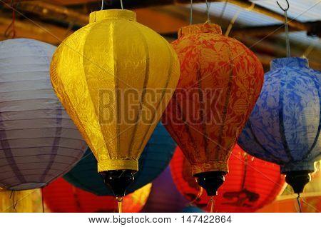 Colorful Lantern, Mid Autumn Festival