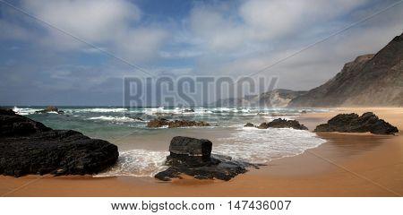 Mystic beach in Portugal - Praia do Castelejo