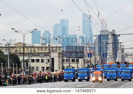 First Moscow Parade Of City Transport