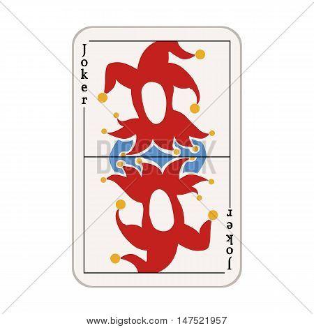 Vector Single Joker Card