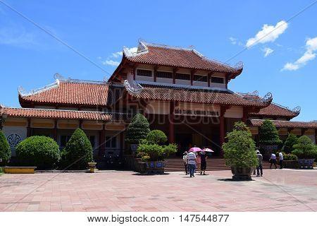 Quang Trung Museum In Binh Dinh, Vietnam