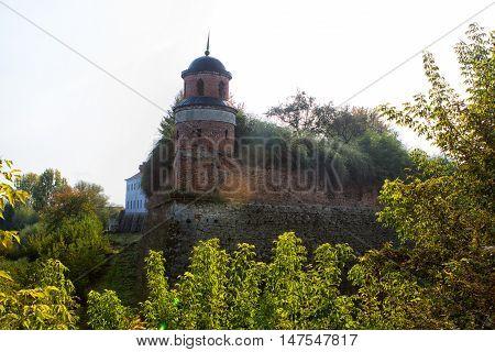 Medieval Dubno Castle 1492.Rivne region Ukraine. Dubno Castle