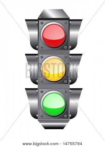 traffic light or semaphore