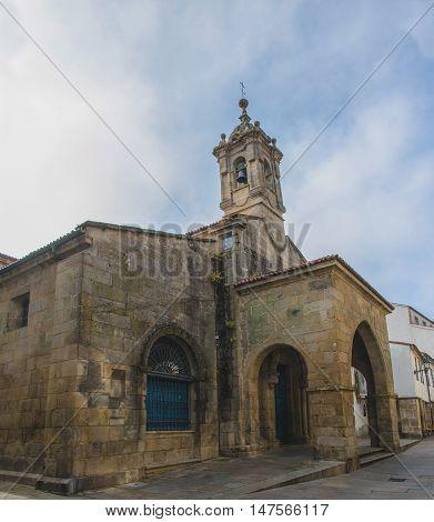 Church Of Santa Maria Salome In Santiago De Compostela