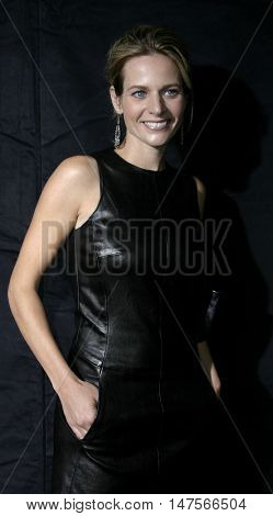 Jessalyn Gilsig at the FX Networks NIP/TUCK 3rd Season premiere held at the El Capitan Theatre in Hollywood, USA on September 10, 2005.