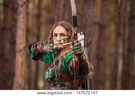 Aiming Elf Woman