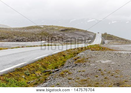 Aurlandsfjellet National Tourist Route also known as