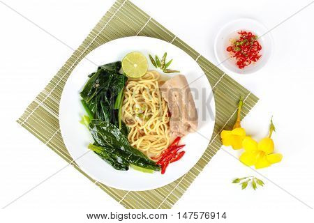 Fried Japanese noodle as